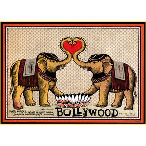 Bollywood,  polski plakat...