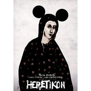 Hereticon,  polski plakat...
