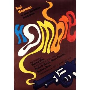 Hombre, Polish Movie Poster
