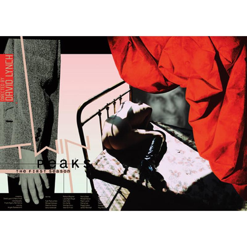Twin Peaks David Lynch Polski Plakat Filmowy Ewa Bajek