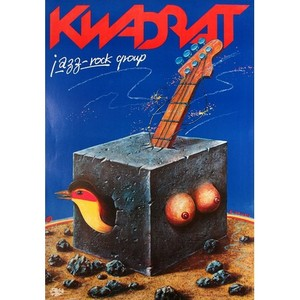 Kwadrat, Polish Music Poster