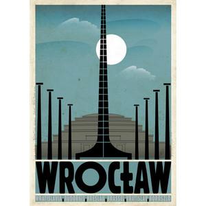 Wrocław, polski plakat...
