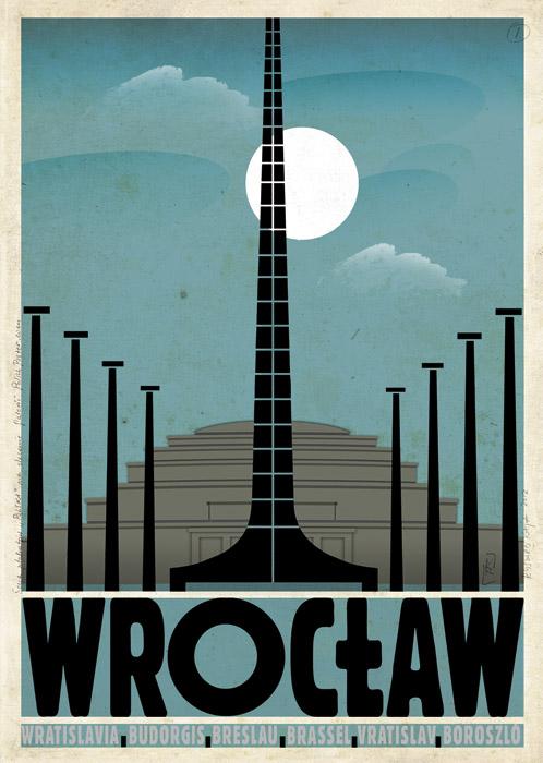 Wrocław Polski Plakat Turystyczny