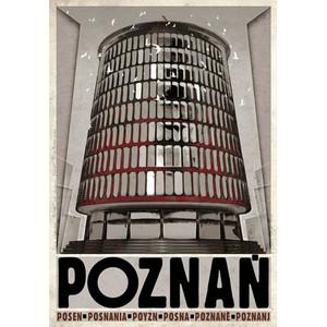 Poznań, polski plakat...