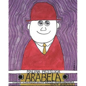 Arabela, Polish Theater Poster