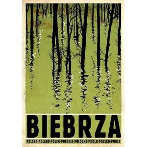 Biebrza, polski plakat...