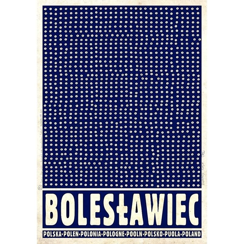 Bolesławiec Polski Plakat Turystyczny