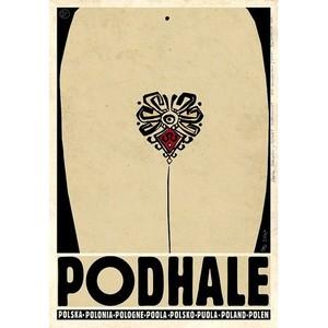Podhale, polski plakat...