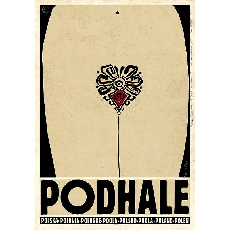 Podhale Polski Plakat Turystyczny
