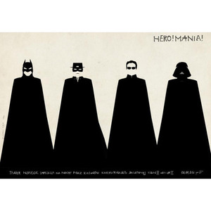 HeroMania,  polski plakat...