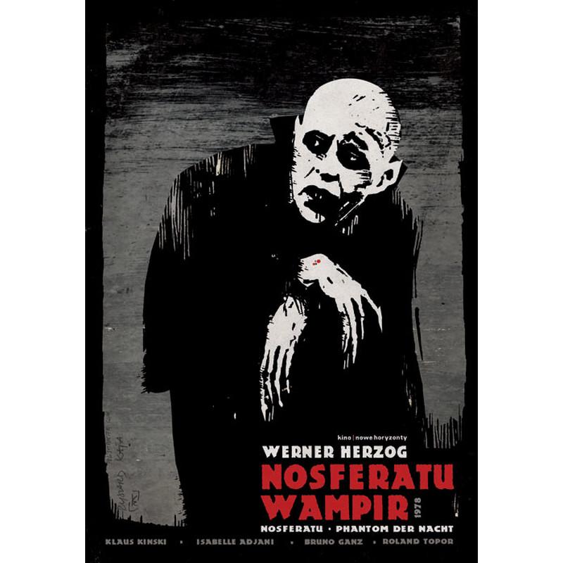 Nosferatu Herzog Polski Plakat Filmowy