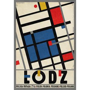 Łódź, polski plakat...