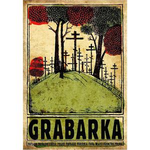 Grabarka, polski plakat...