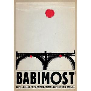 Babimost, polski plakat...