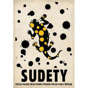 Sudety, Salamandra, polski...