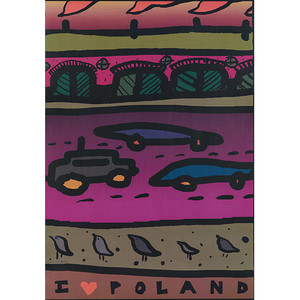 I Love Poland, Polish Poster