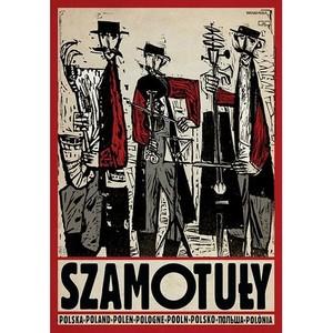 Szamotuły, polski plakat...