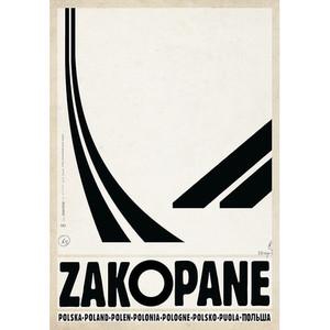 Zakopane, polski plakat...