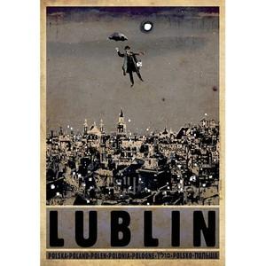 Lublin, polski plakat...
