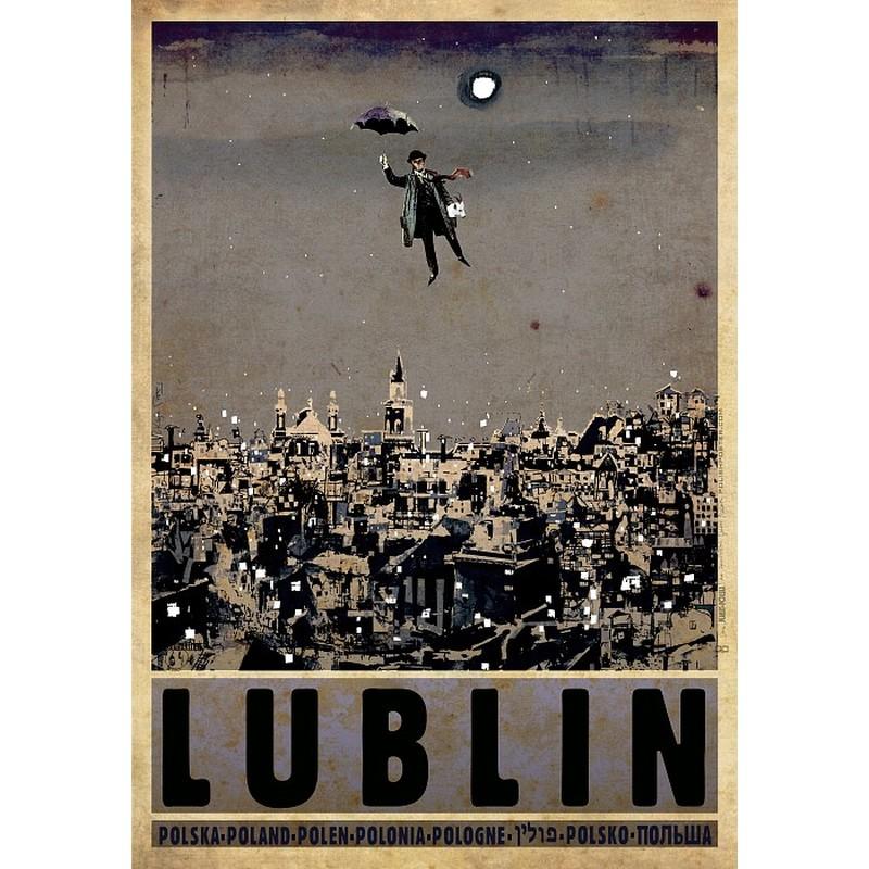 Lublin Polski Plakat Turystyczny