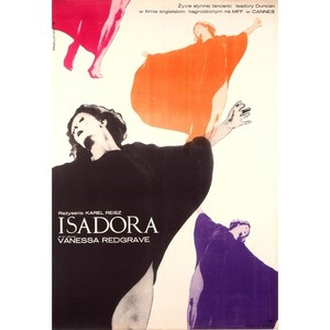 Isadora, Polish Movie Poster