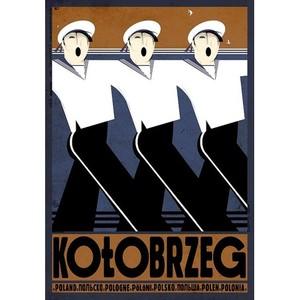 Kołobrzeg, polski plakat...