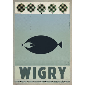 Wigry, Polish Promotion Poster