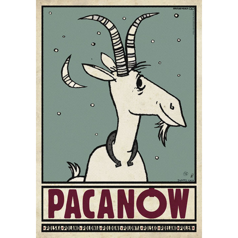 Pacanow Polish Promotion Poster