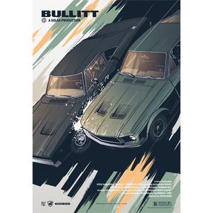 Bullitt, Polish Poster