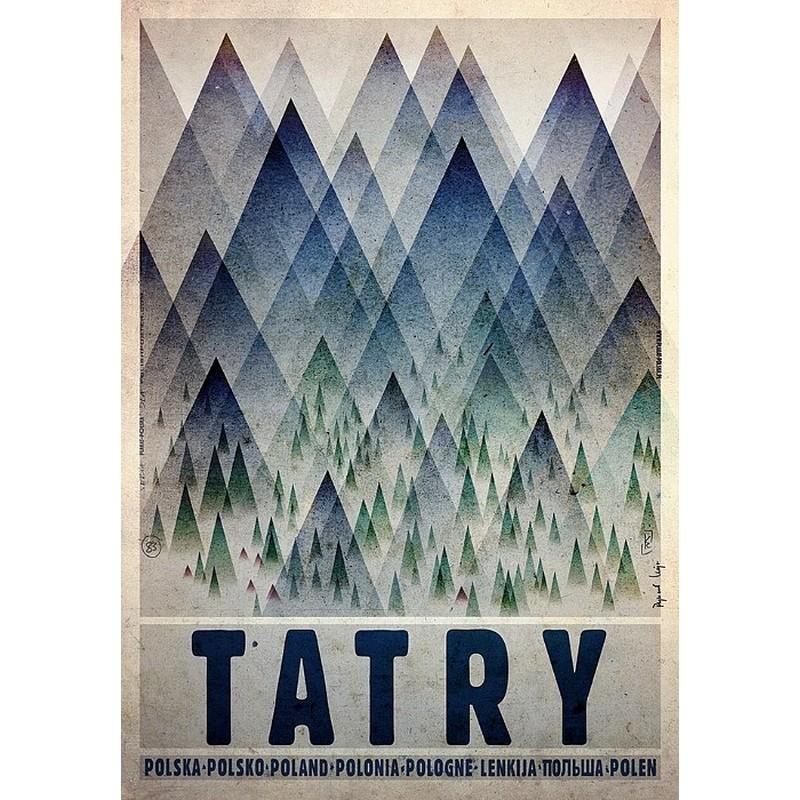 Tatry Plakat Promocyjny Ryszard Kaja