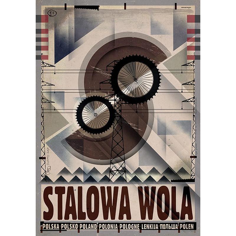 Stalowa Wola Plakat Z Serii Polska Ryszard Kaja