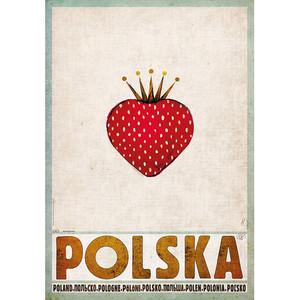 Polska Truskawka, plakat...