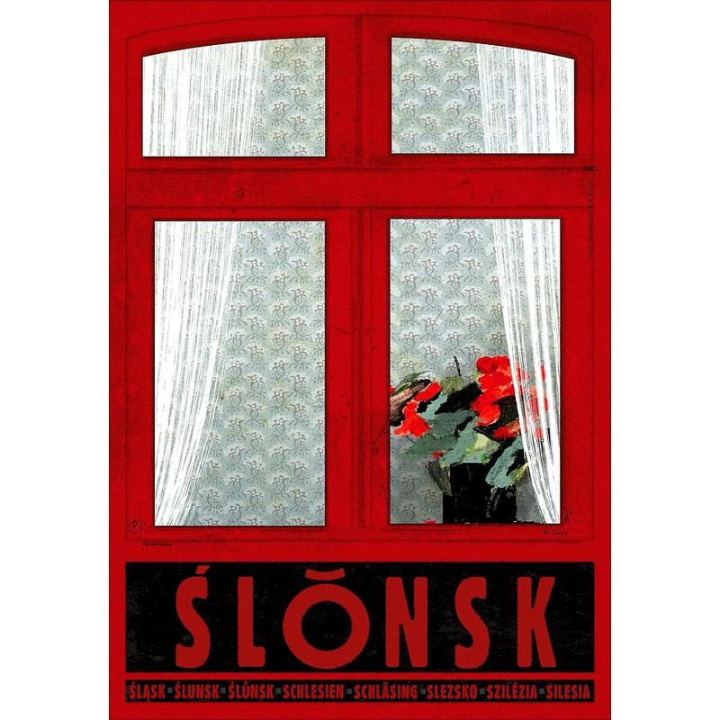 ślonsk Plakat Promocyjny Ryszard Kaja