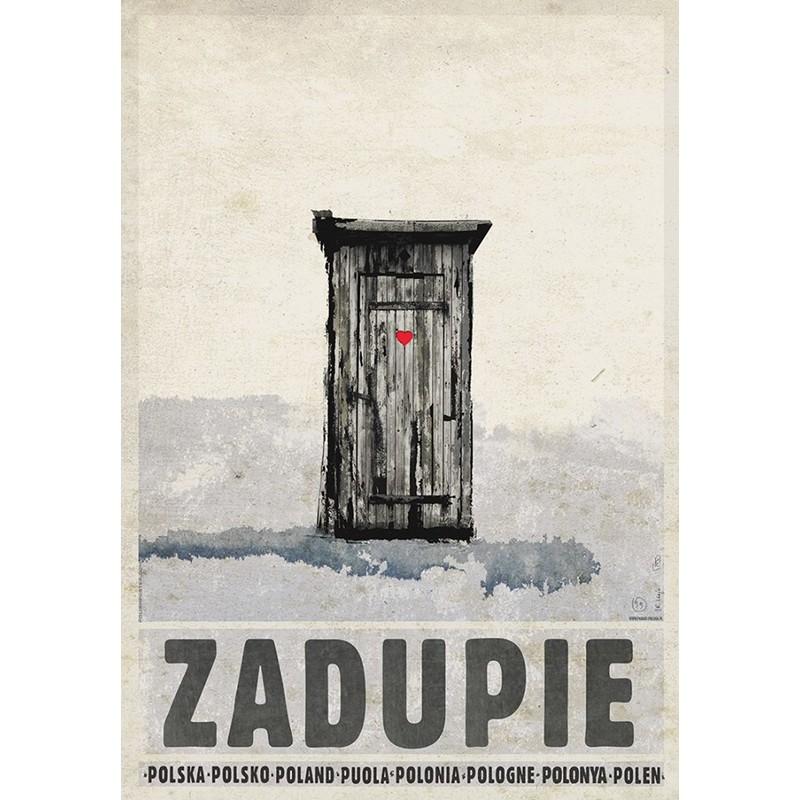 Zadupie Plakat Z Serii Polska Ryszard Kaja