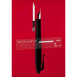 Broniewski, plakat...