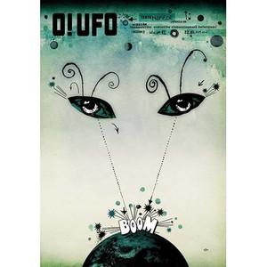 O! UFO, plakat filmowy,...