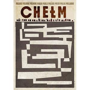 Chełm,  plakat z serii...