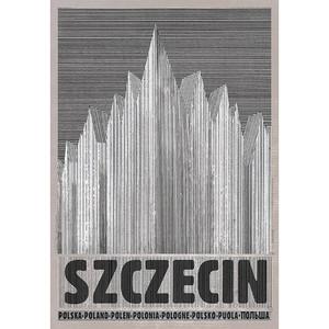 Szczecin, plakat z serii...