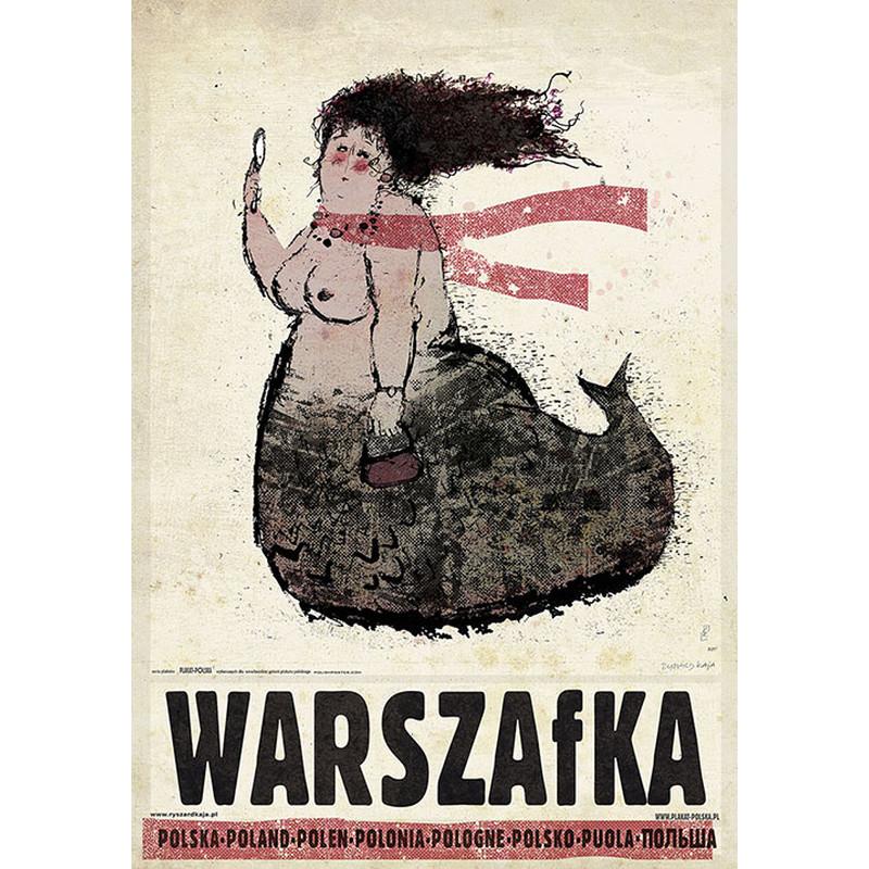 Warszafka Plakat Z Serii Polska Ryszard Kaja