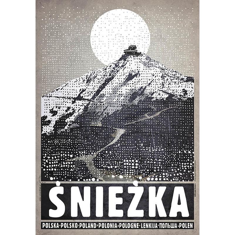 śnieżka Plakat Z Serii Polska Ryszard Kaja