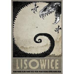 Lisowice, plakat z serii...