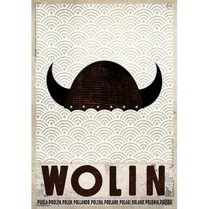 Wolin, plakat z serii...