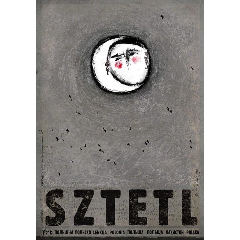 Sztetl Plakat Z Serii Polska Ryszard Kaja