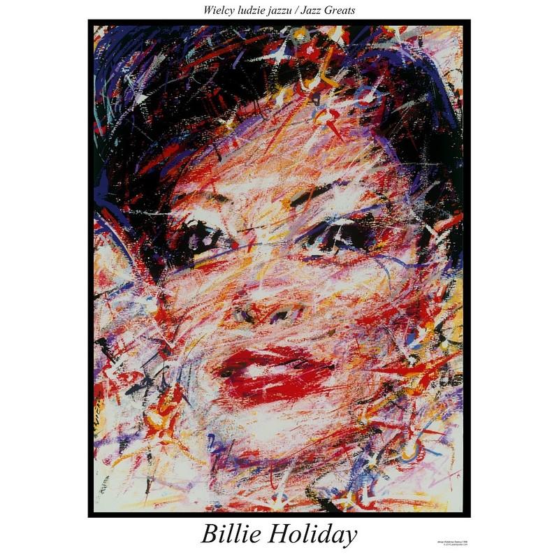 Billie Holiday Plakat Z Serii Jazz Greats Waldemar świerzy