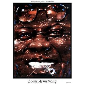 Louis Armstrong, plakat z...