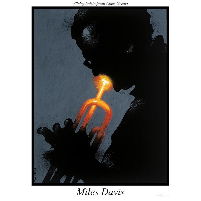 Miles Davis Plakat Z Serii Jazz Greats Waldemar świerzy