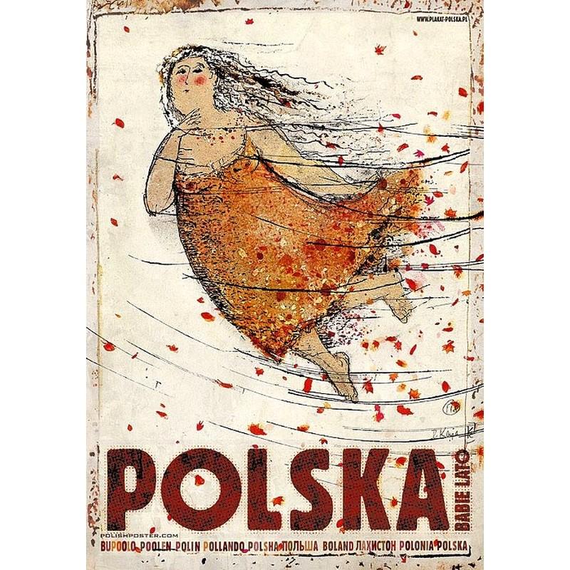 Polska Babie Lato Plakat Ryszard Kaja