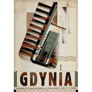 Gdynia, plakat z serii...