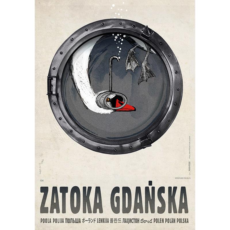 Zatoka Gdańska Plakat Z Serii Polska R Kaja