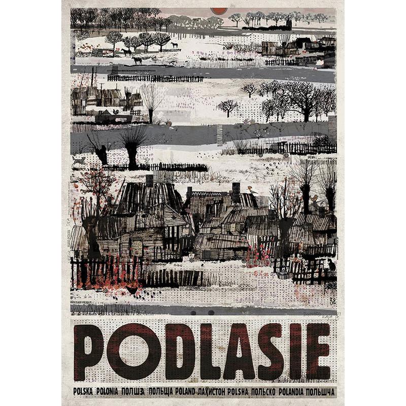 Podlasie Plakat Z Serii Polska Ryszard Kaja